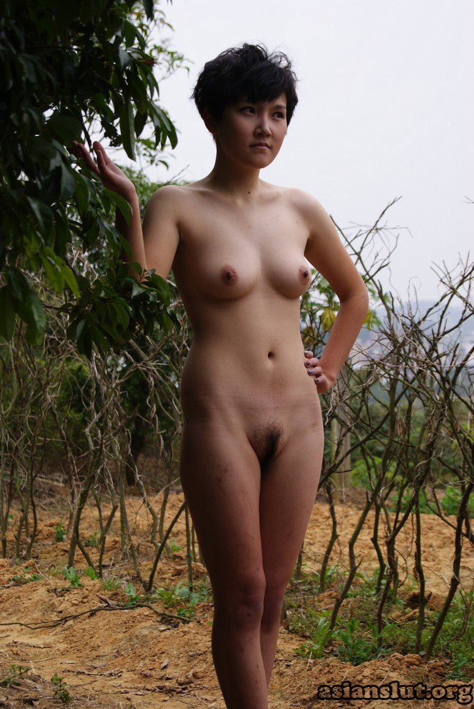 Chinese Nude Model Shoot